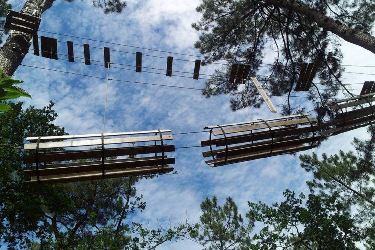 Accrobranche en Occitanie : Mont Roc