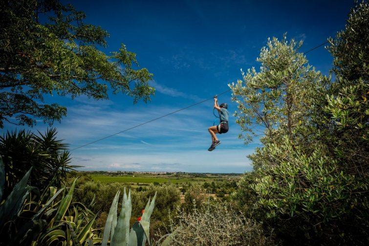 Accrobranche en Occitanie : Rochers de Maguelone