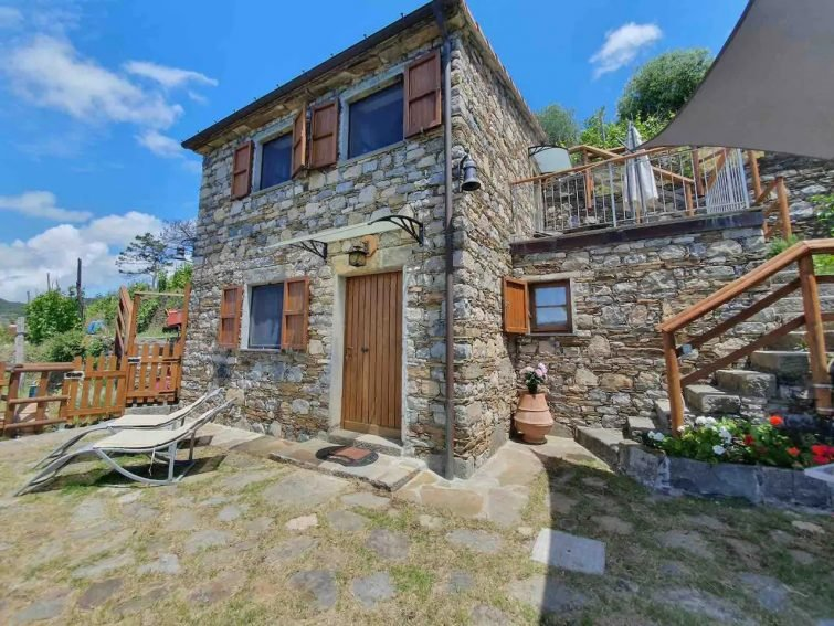 Maison en pierre de Vernazza