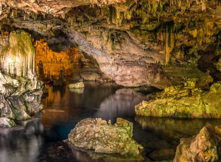La grotte de Neptune