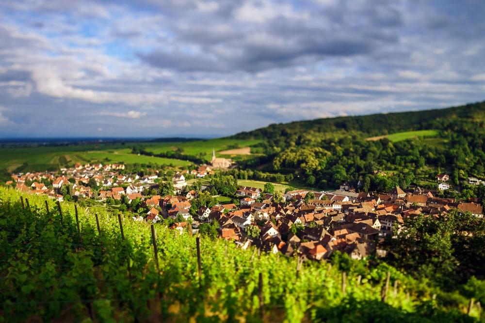 Villages d'Alsace : Andlau