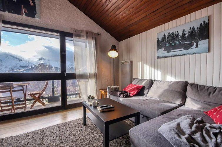 Appartement avec vue et mezzanine, Alpe d'Huez