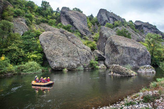 3 endroits où faire du rafting en Auvergne