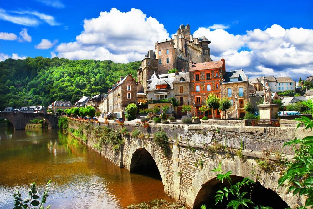 Villages d'Aveyron : Estaing