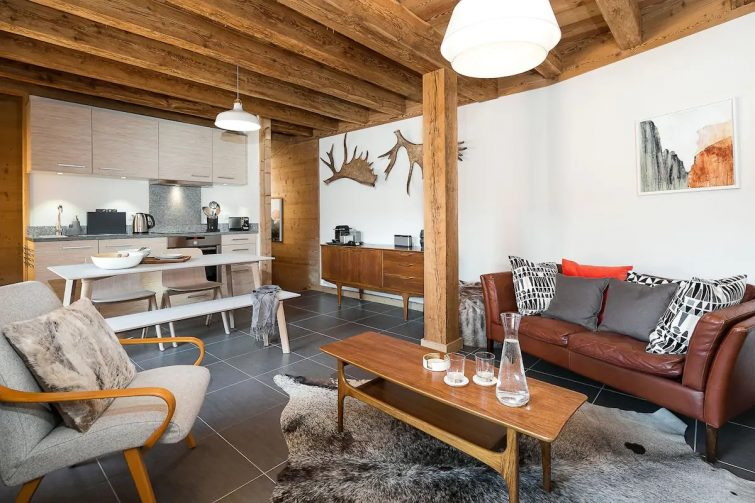 Scandi Boutique Townhouse dans le centre de Morzine