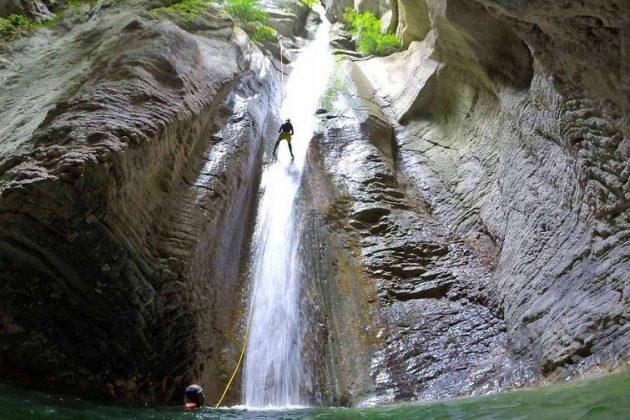8 endroits où faire du canyoning dans les Alpes