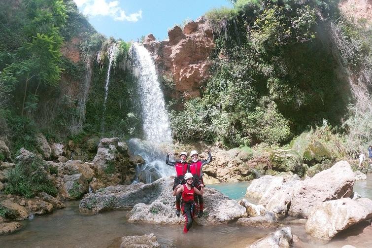 activités outdoor Alicante - canyoning Alicante