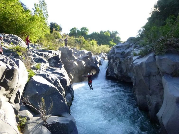 Activités outdoor Sicile : canyoning