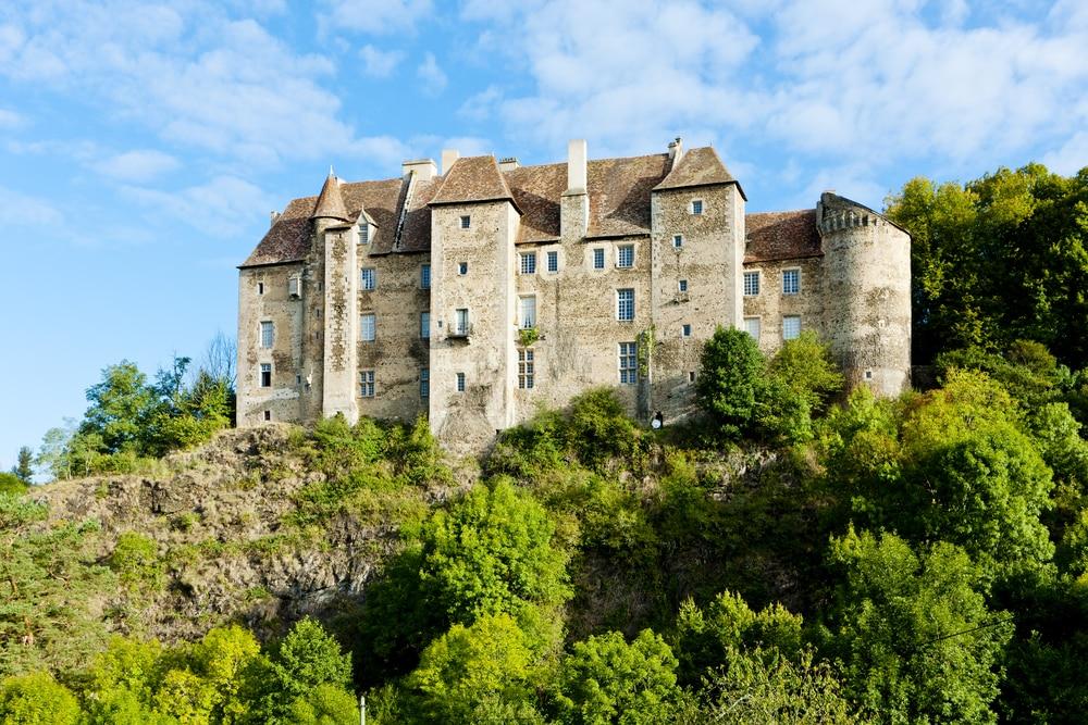 visiter Limousin - château de Boussac