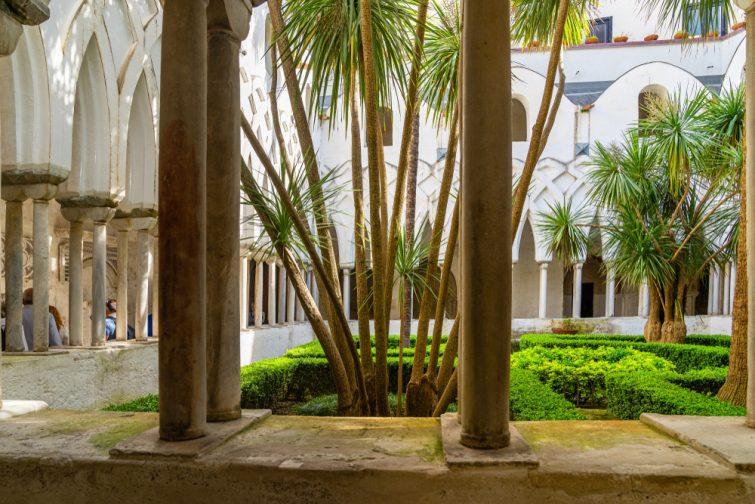 Visiter Amalfi : Le cloître du Paradis