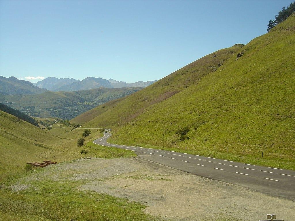 Les deux derniers km du col de Peyresourde