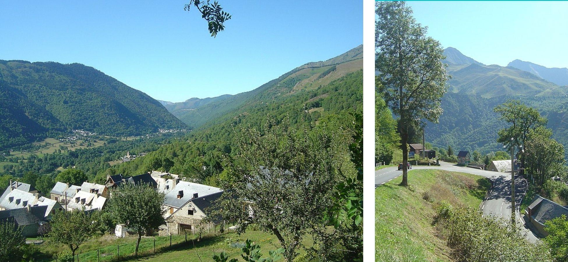 Le lacet de Lourdervielle - Col de Peyresourde