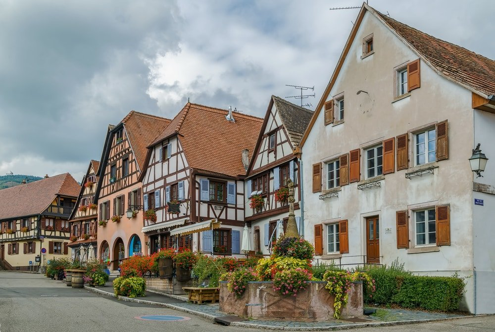 Villages d'Alsace : Dambach-la-Ville