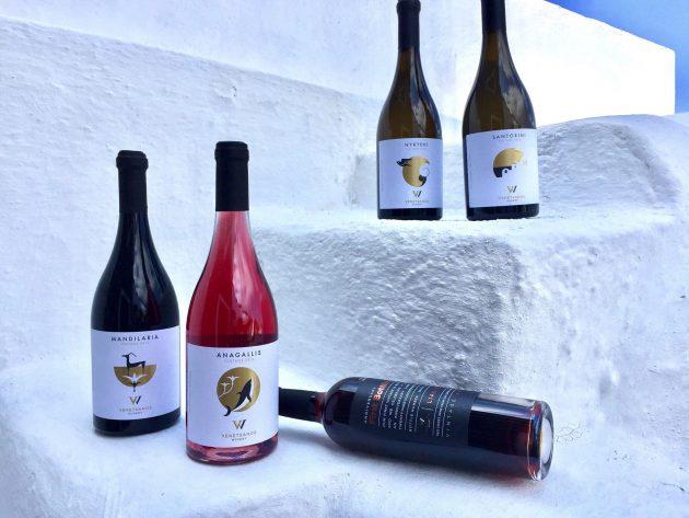 Les 8 vignobles où déguster du vin à Santorin