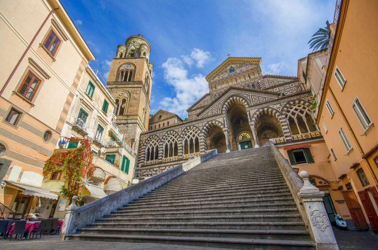 Visiter Amalfi : Cathédrale/Duomo di Sant'Andrea
