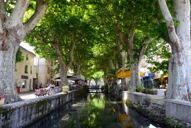Plus beaux villages du Gard : Goudargues