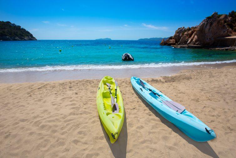 Activités outdoor à Ibiza : kayak de mer