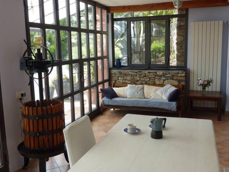 Appartamento blu, dans un cadre pittoresque