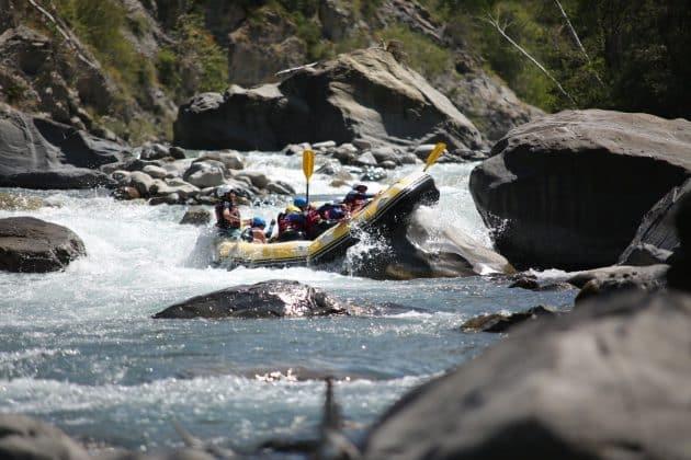 3 endroits où faire du rafting à Serre-Ponçon
