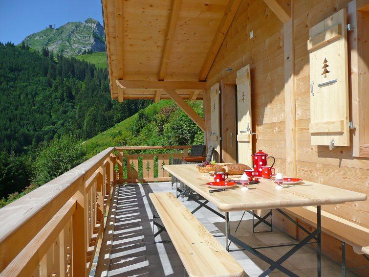 La Poya, chalets en Suisse