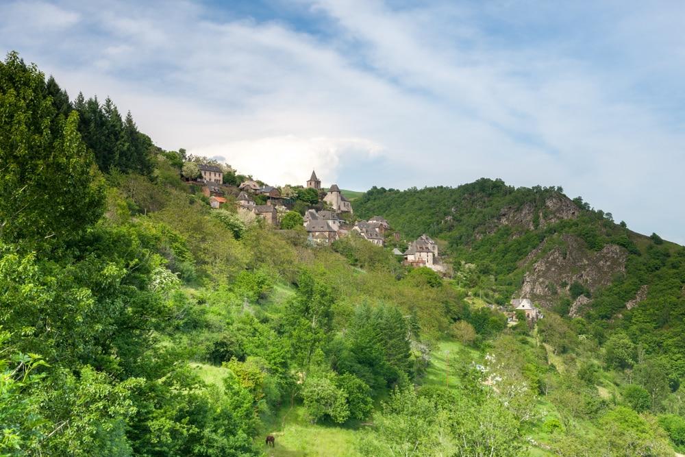 Villages d'Aveyron : La Vinzelle