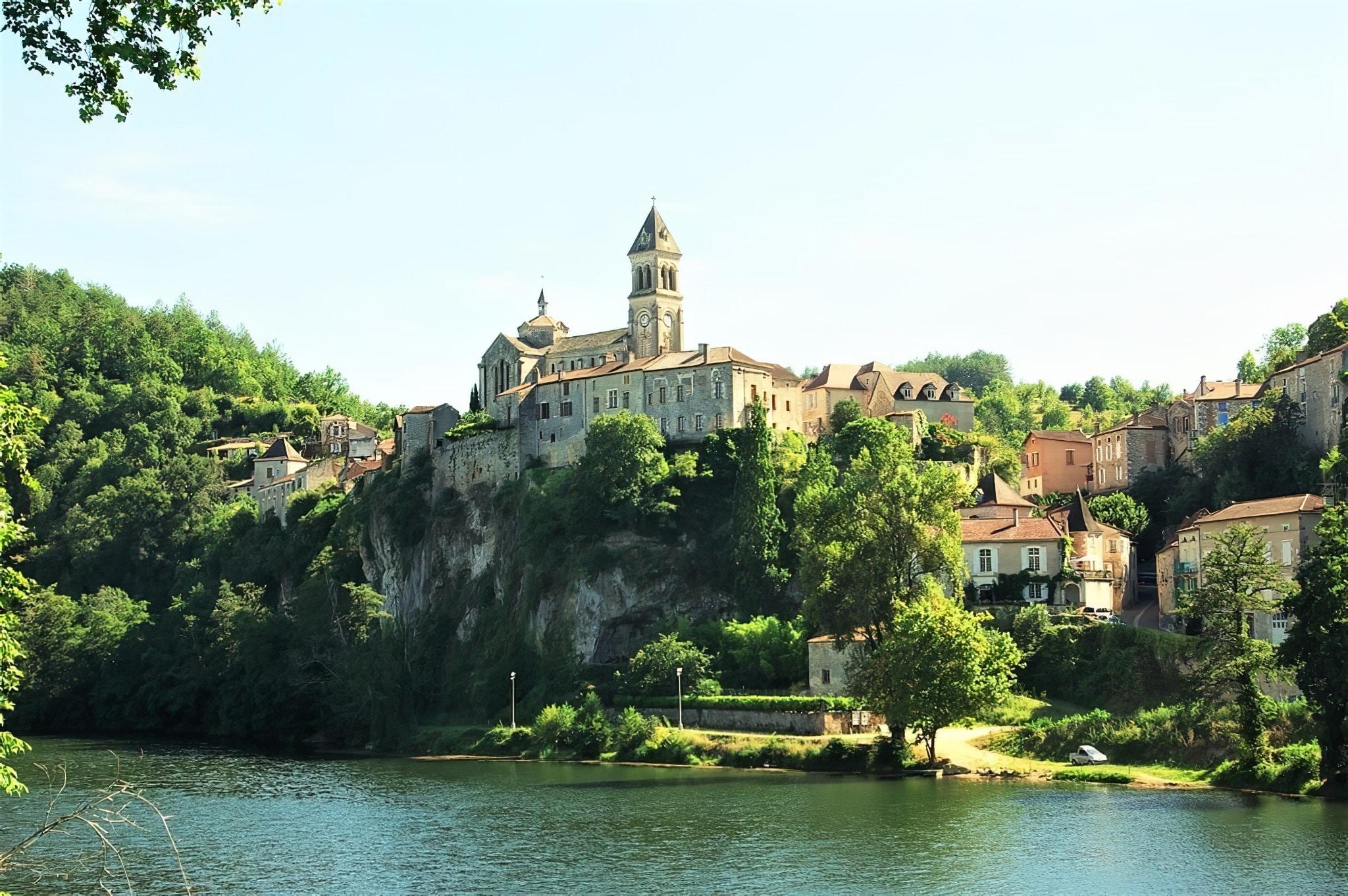Villages du Lot : Albas