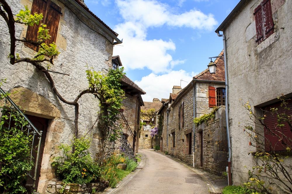 Villages du Lot : Loubressac