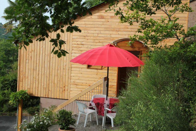 La maisonnette en bois, Estaing