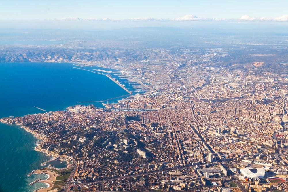 Marseille vue du haut