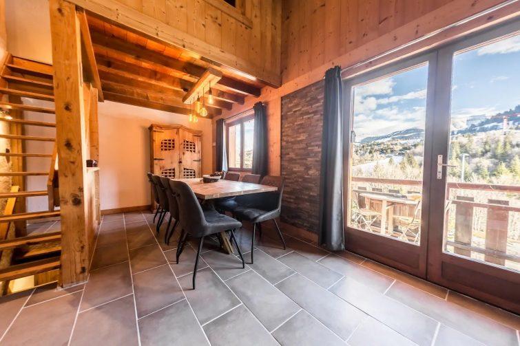 Chalet 4 chambres, avec vue sur le Mont-Blanc