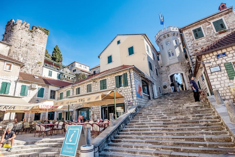 La vieille ville de Herceg Novi