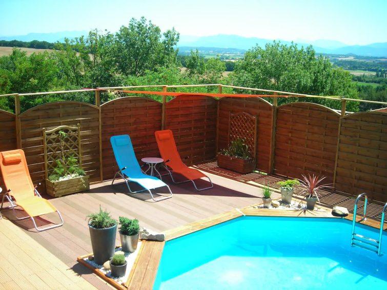 Superbe maison avec piscine et terrasse sur les hauteurs
