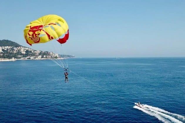 Où faire du parachute ascensionnel à Nice ?