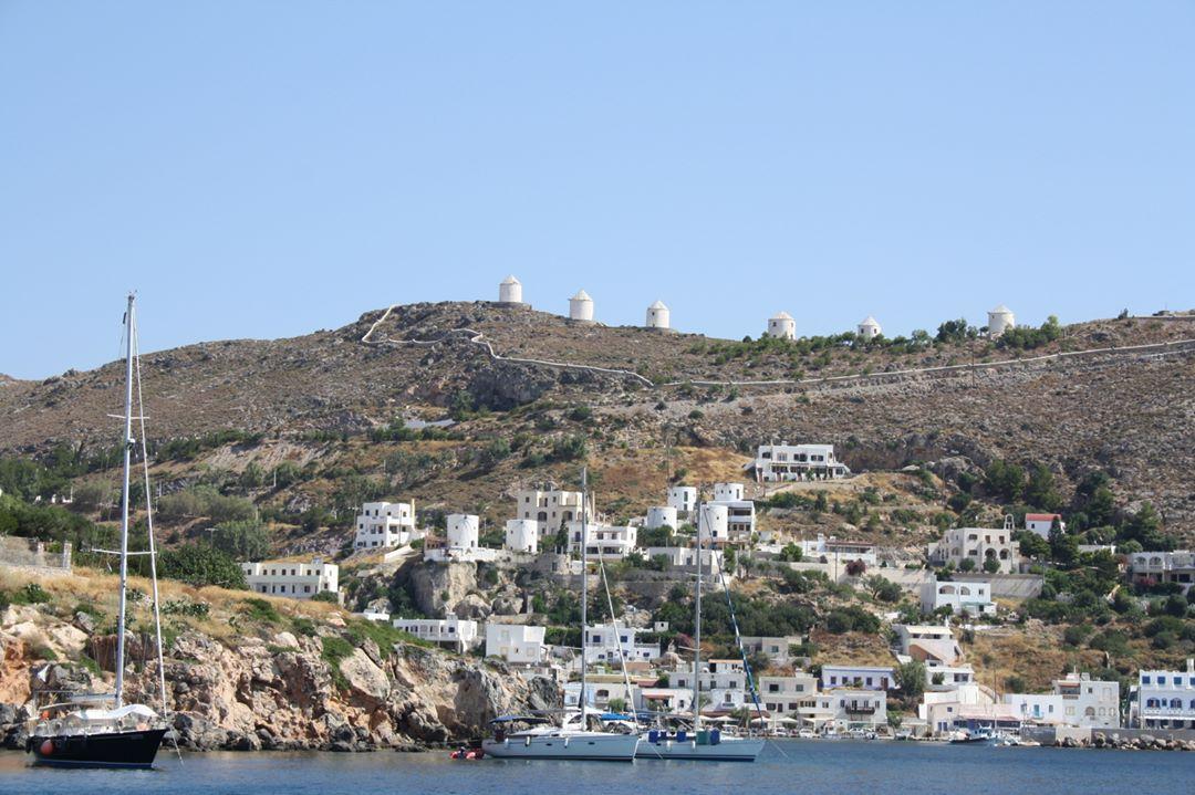 Village de pêcheurs de Pandeli, Leros, Grèce