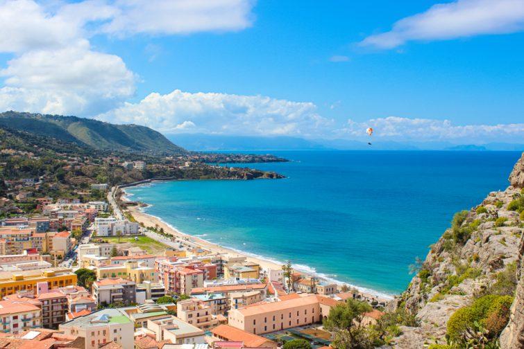 Excursions depuis Catane : Parapente en Sicile