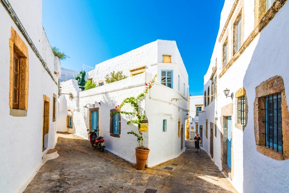 Village de Patmos, Grèce