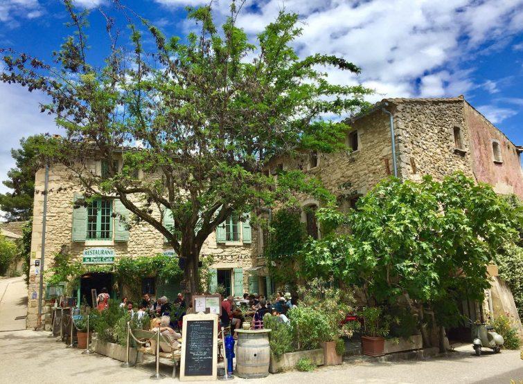 Le Petit Café, Oppède le Vieux