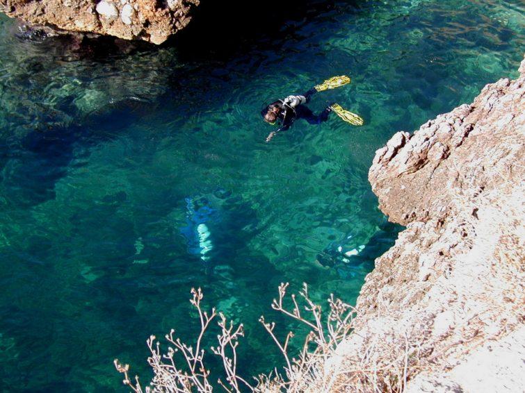 Plongée sous-marine en Sicile