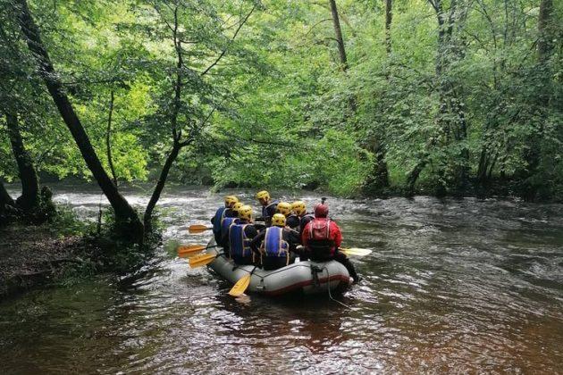 Les endroits où faire du rafting dans le Parc Naturel du Morvan