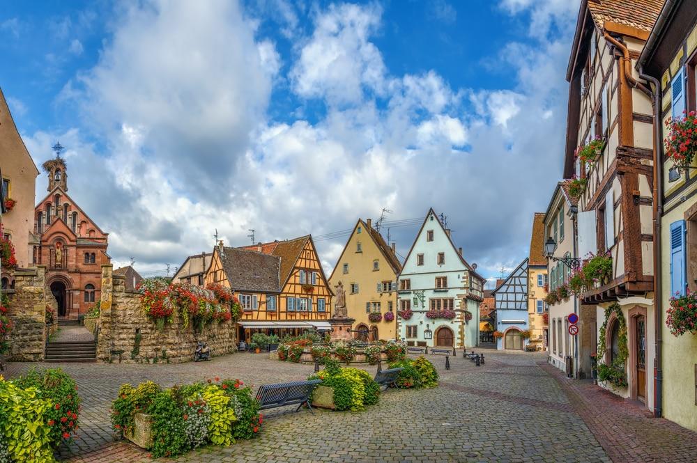 Villages d'Alsace : Ribeauvillé