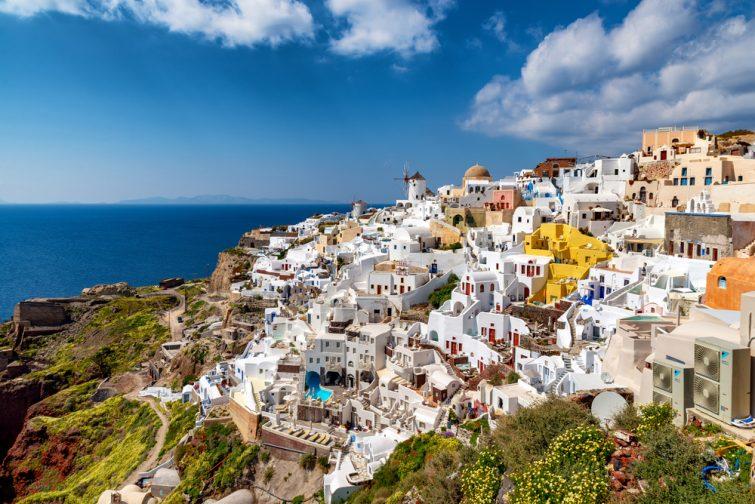 Visiter Santorin : Oia