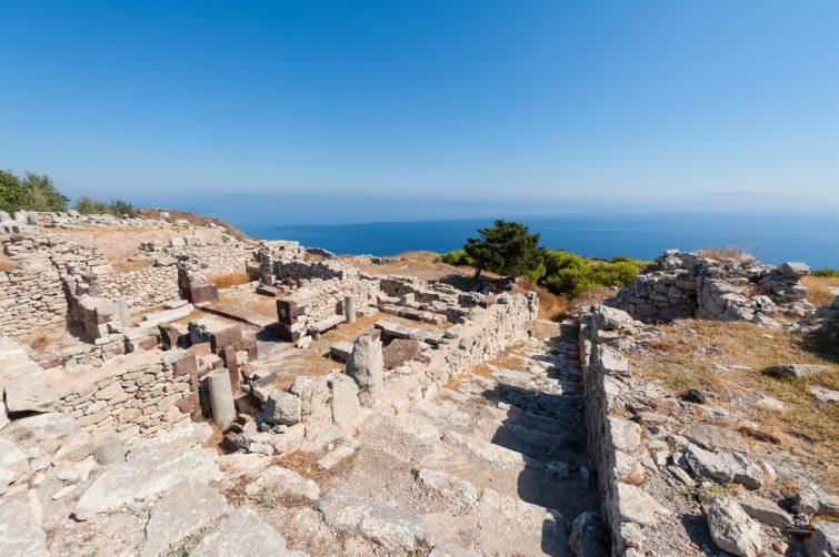 La cité antique de Théra