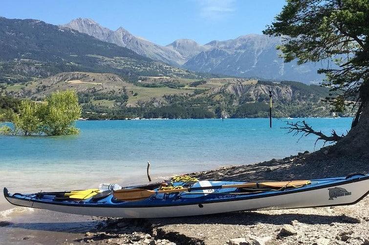 Activités outdoor à Serre-Ponçon : kayak
