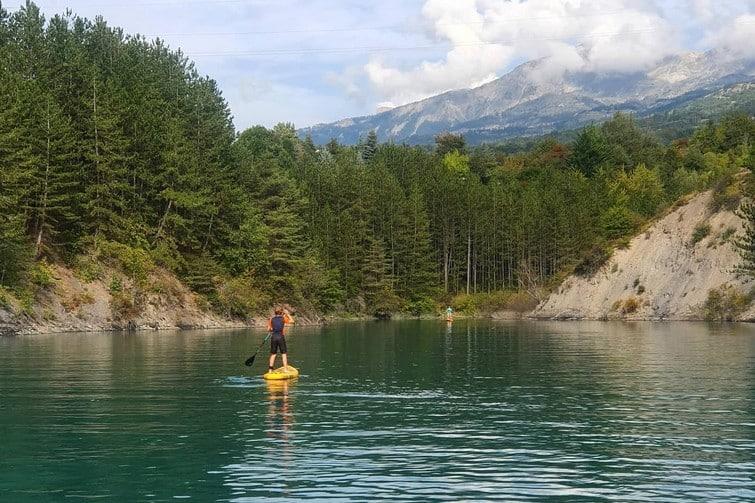 Activités outdoor à Serre-Ponçon : Stand-up Paddle