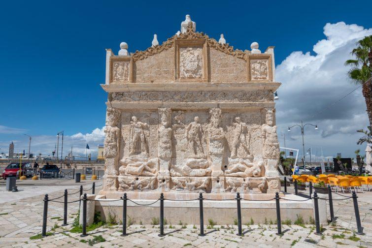 La fontaine grecque - Gallipoli