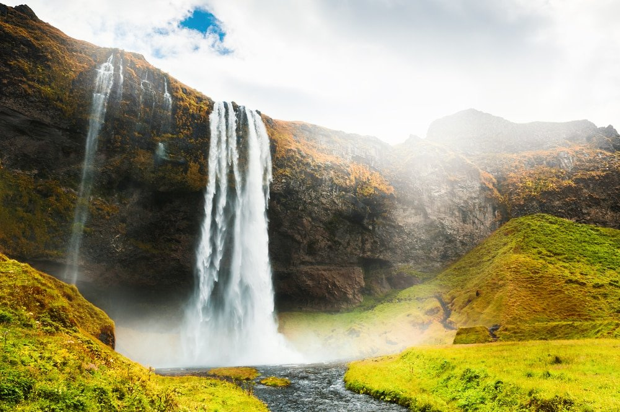 Seljalandsfoss, Islande - Vikings