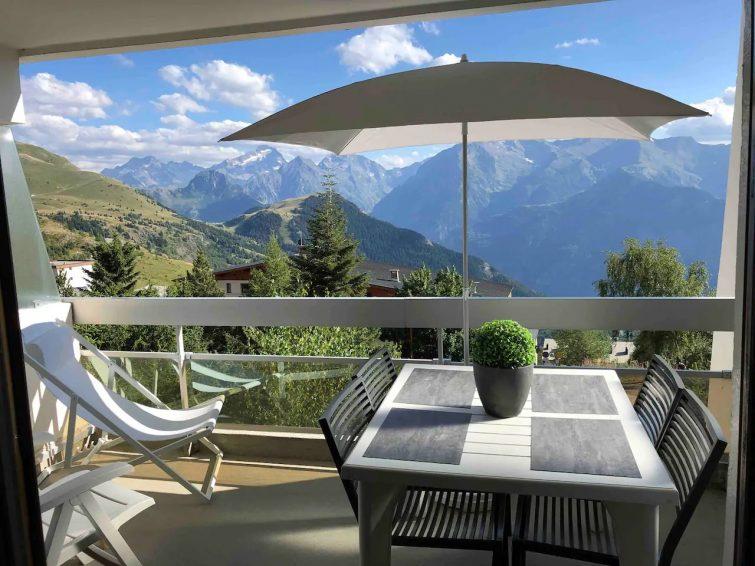 Studio avec terrasse, Alpe d'Huez