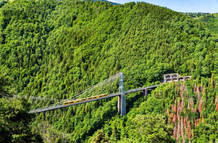 Le train jaune des Pyrénées