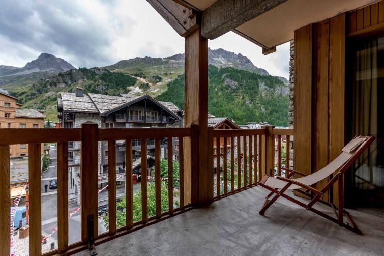 Studio au cœur de Val D'Isère ! Balcon/Terrasse + Casiers à ski