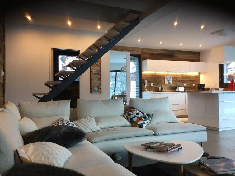 Chalet moderne et confortable dans le hameau Les Granges